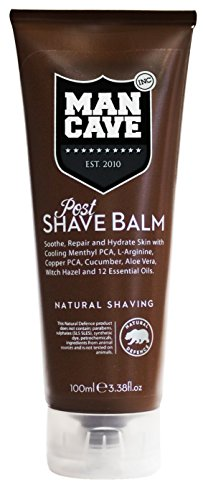 Post Shave Face Balm (Mancave Post shave balm by mancave, 4.5 Ounce)