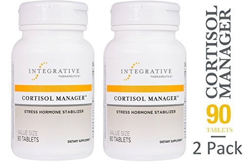 Cortisol Manager 90 Tabs  Pack Of 2   By Integrative Therapeutics