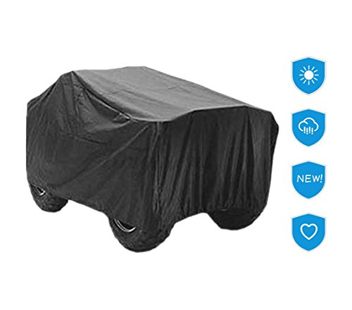 Used 4 Wheelers - Universal ATV Cover Waterproof Quad Bike 4x4 Four Wheeler Storage XABTV