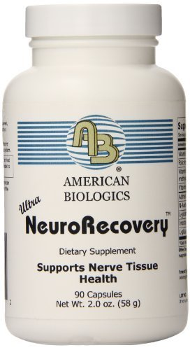 American Biologics Neurorecovery Capsules, 90 Count by AMERICAN BIOLOGICS