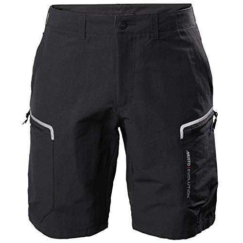 Musto Mens Evolution Performance 2.0 Sailing Boating Watersports Shorts – Black – Easy Stretch