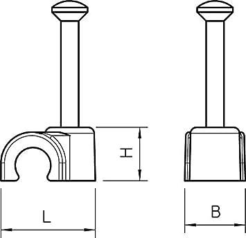 Obo-bettermann SISTEMA CONEX.FIJ GRAPILLON 2010//45 grau System conex IJF
