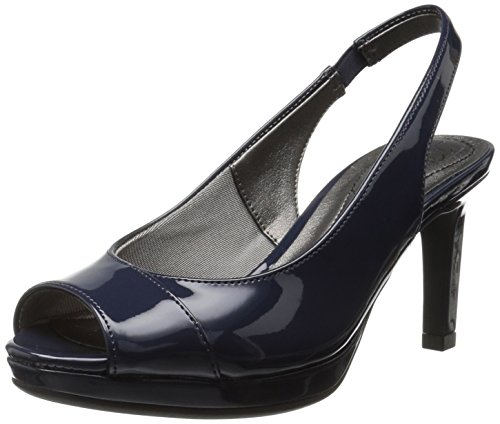 - LifeStride Women's Invest Dress Sandal, Lux Navy, 11 M US