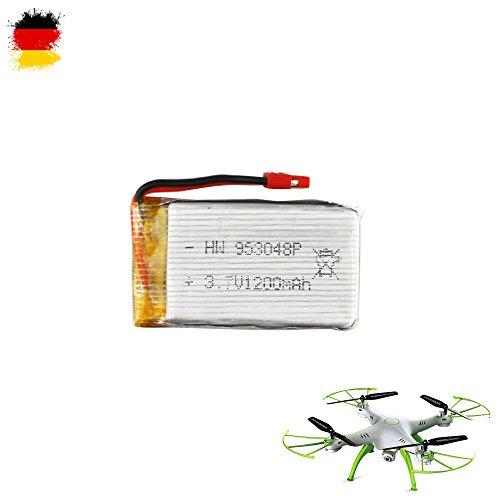 Batterie 3,7V 1200mAh Power original de mise à niveau pour Syma x5hc, x5hw Quadcopter