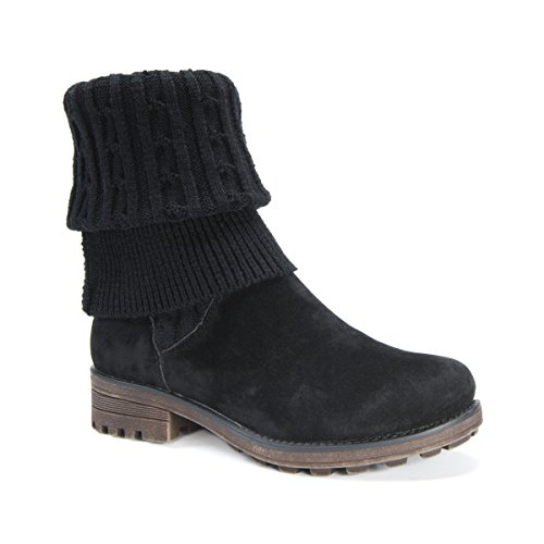 Brown US Muk LUKS 8 Black Kelby M Boot Fashion Women's XqxA8gnwqv
