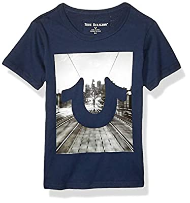 True Religion Boys' Fashion Short Sleeve Tee Shirt
