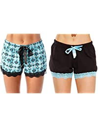 Womans Pajamas Shorts - PJs - Sleepwear (Pack of 2)