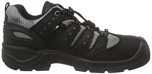 Sanita San-safe Mississippi Lace Shoe - Calzado de protección Unisex adulto Negro - Schwarz (Black 2)