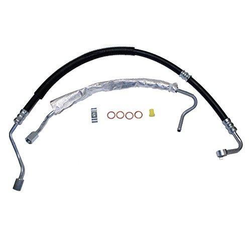 (Edelmann 80771 Power Steering Pressure and Return Line Hose Assembly Set)