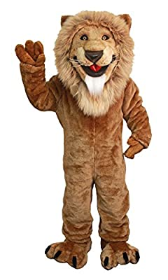 Friendly Lion Mascot Costume Character Adult Sz Real Picture Langteng Cartoon