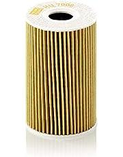 MANN-FILTER HU 7008 Z Original Filtro de Aceite, Set de filtro de aceite con junta / juego de juntas, Para automóviles