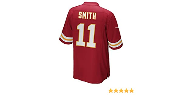 960d10201dc Amazon.com   Nike Alex Smith Kansas City Chiefs Youth Red Jersey (Youth  Sizes)   Sports   Outdoors