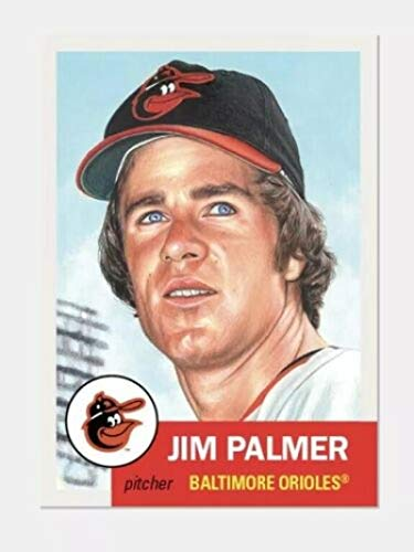 (2019 Topps The Living Set Baseball #175 Jim Palmer Baltimore Orioles Online Exclusive Limited Print Run MLB Trading Card SOLD OUT at Topps)