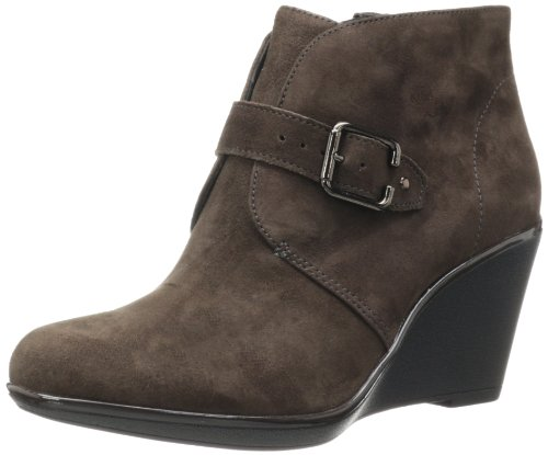 CLARKS Women's Daylily Surety, Dark Brown, 10 B-Medium