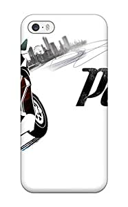 Durable Defender Case For Iphone 5/5s Tpu Cover(burnout Paradise)