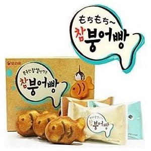 今、韓国で話題になっている オリオン チャム ブンオパン(タイ焼き)6個入 174g