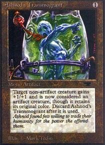 Magic: the Gathering - Ashnod's Transmogrant - Antiquities