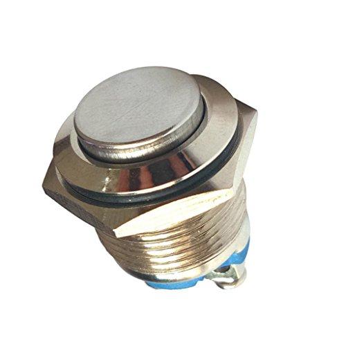金属 モーメンタリ 押しボタンスイッチ 防爆 16mm 防水性