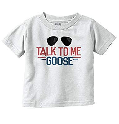 Talk to Me Goose Funny Movie Newborn Baby Infant Toddler T Shirt