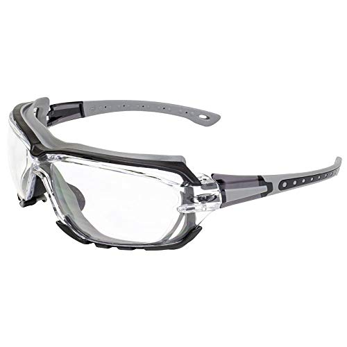 Global Vision Padded Motorcycle Sport Sunglasses Octane Gray Clear ()