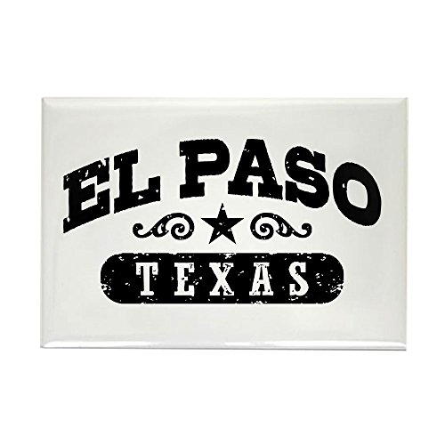 CafePress El Paso Texas Rectangle Magnet, 2