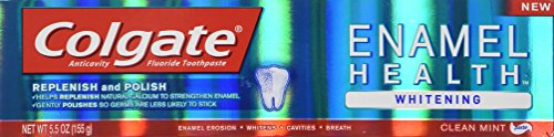 Colgate Enamel Health Whitening Paste Toothpaste, Clean Mint - 5.5 oz