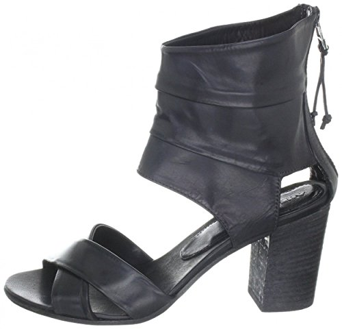 Leather sandal Area Forte AD1486 nero Black - Nero 1u8mXteWv