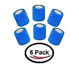 Cohesive Bandage Self Adherent Wrap FDA Approved Self Adhesive Elastic...