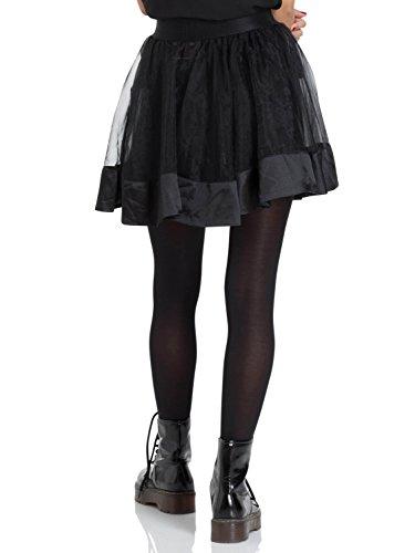 Corte Liso Negro Trapecio Mujer Falda Jawbreaker En Para O A 1StYHcO
