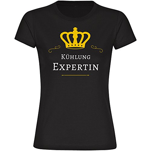 T-Shirt Kühlung Expertin schwarz Damen Gr. S bis 2XL