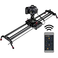 ASHANKS Camera Slider, 0.8m/2.6ft Motorized APP Bluetooth...