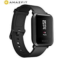 Amazfit Bip Huami Reloj Inteligente con GPS,smartwatch Monitor de Ritmo cardíaco, táctil, Impermeable, Funciona con iOS y Android