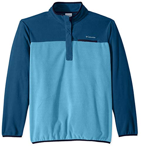 Columbia Mountain Side Plus Size Pull Over Fleece, 1X, Beta/Lagoon