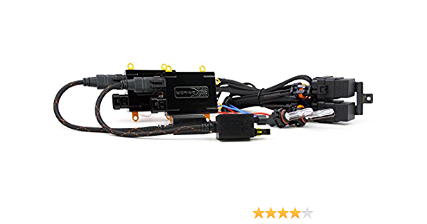 H7 Morimoto Elite HID Kit System With XB35 35W Ballasts and XB35 H7 4500K Bulbs