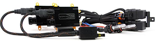 9005 Morimoto Elite HID Kit System With XB55 50W Ballasts and XB35 9005 5500K Bulbs