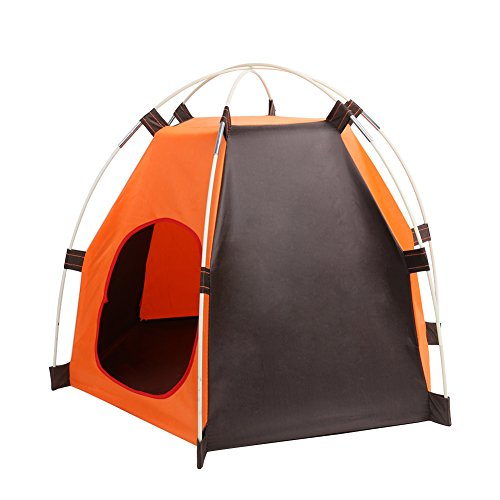 ANPI Cama Plegable Portátil para Perros, Tienda impermeable para Animales Pequeños, Perros y Gatos, Ideal para Viajes de Campamento al Aire Libre: ...