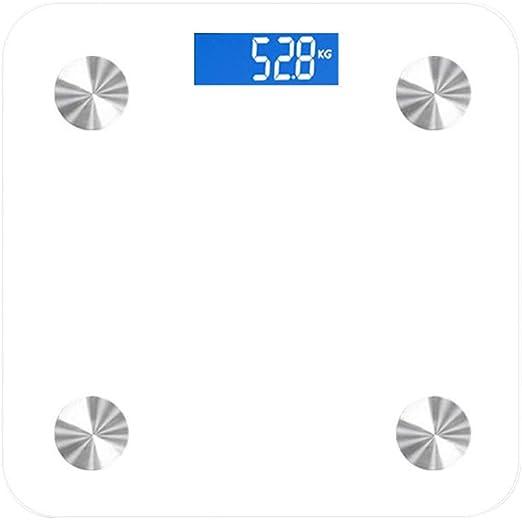 Electronic Digital Bluetooth 180KG Glass Body Bathroom Scale Gym Weight Scales