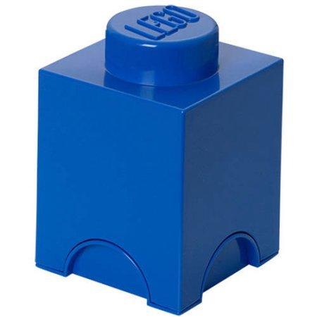LEGO Storage Brick 1 Bright Blue