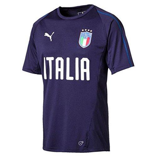 PUMA Italy Training Jersey 2017/18 (Navy)-Small Adults