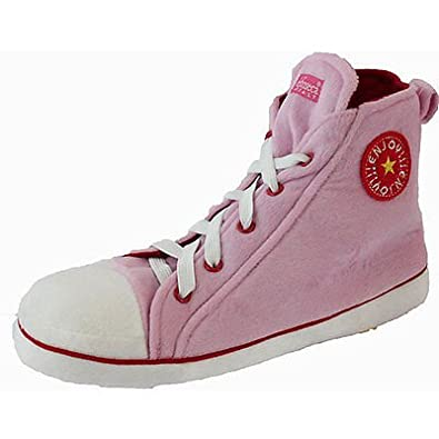 Mens Womens Unisex Chuck Taylor Converse Style Novelty Slipper High Top (UK  7-8 254f4f069