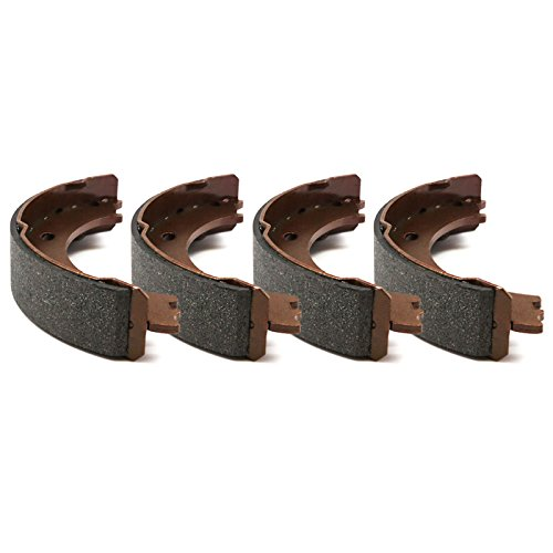 R1 Concepts Pro Fit Rear Semi-Metallic Parking Brake Shoes 2902-0830-00
