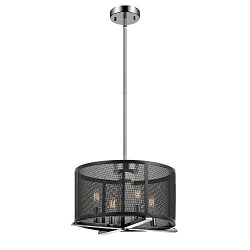 Globe Electric 4 Light Chandelier 65499