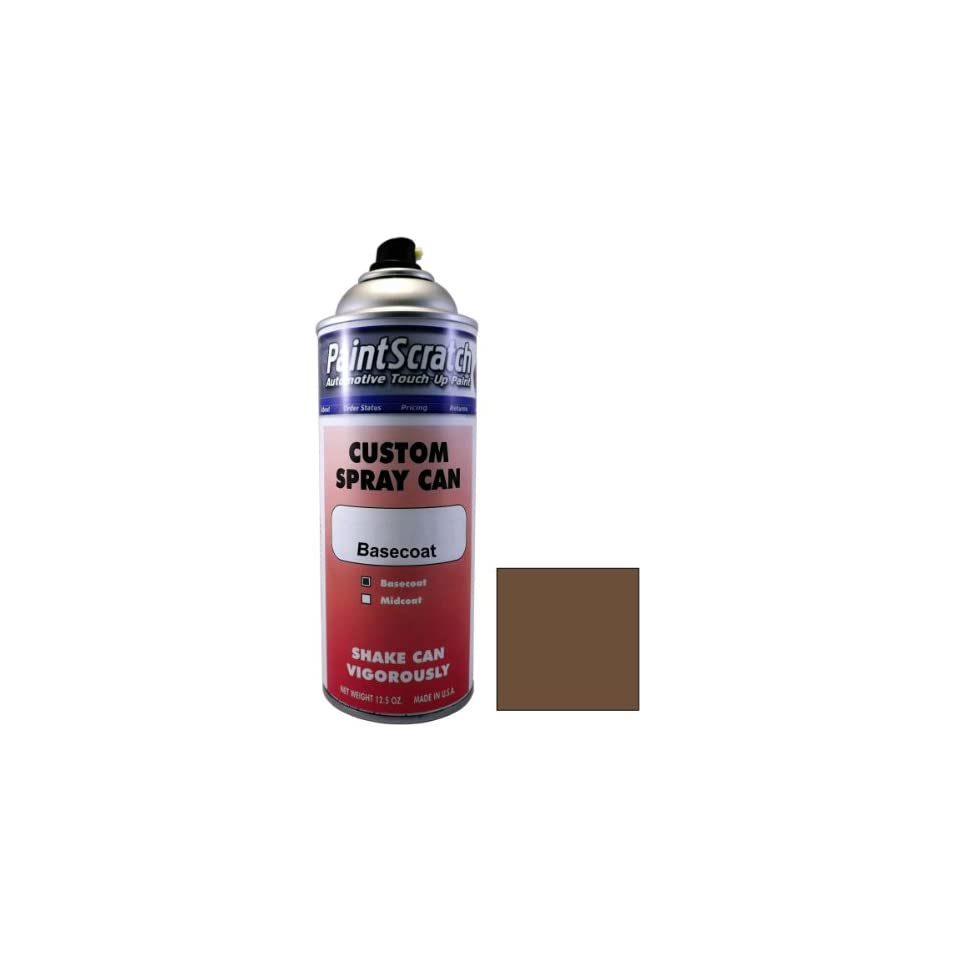12.5 Oz. Spray Can of Cuprit Brown Metallic Touch Up Paint for 2011 Mercedes Benz E Class (color code 497/8497) and Clearcoat