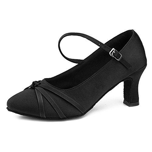 moderne 7cm de Black YFF bal Les et 7cm talon tango danse chaussures 5cm de w70qvX7