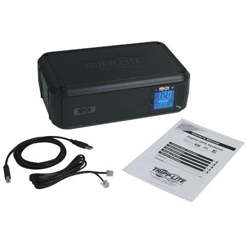 037332124999 - Tripp Lite 1000VA Smart UPS Back Up, 500W Tower, LCD, AVR, USB, Tel & Coax Protection (SMART1000LCD) carousel main 2