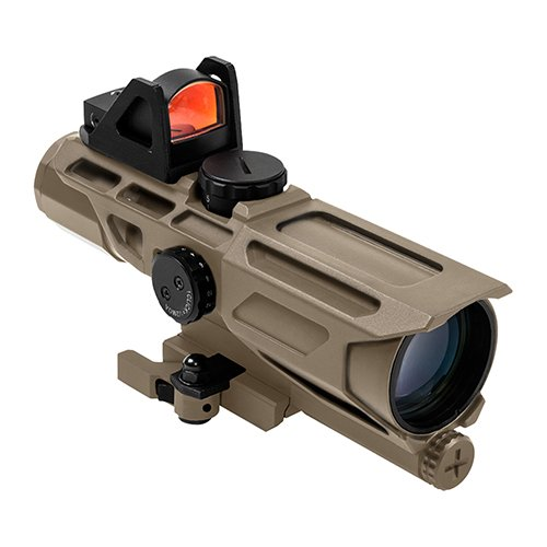 NcSTAR NC Star VSTM3940GDV3T, Ultimate Sighting System, Gen 3, Mil Dot Reticle (Best Flash Suppressor Muzzle Brake For Ar 15)