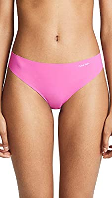 Calvin Klein Women's Invisibles No Panty Line Thong,