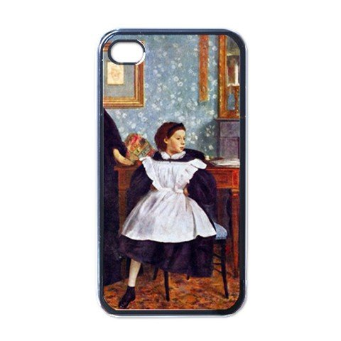 Portait of the Bellelli family By Edgar Degas Black iPhone 4/4s Case