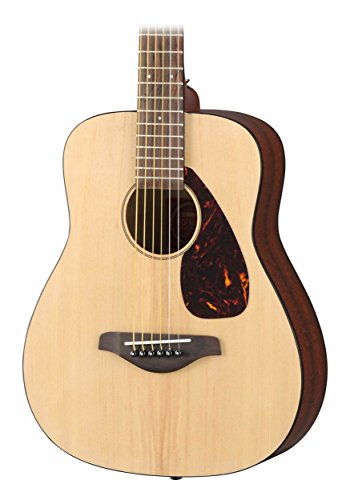 Yamaha JR2 3/4 Scale Natural Folk Guitar w/Gig Bag, Stand, and Tuner