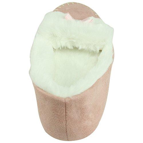 Ballerines Femme Forfoot Intérieur Avec Semelle Souple Antidérapante Rose